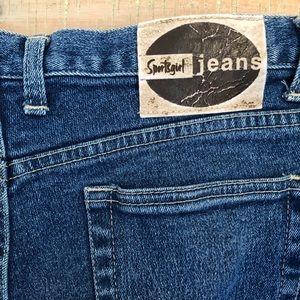 Vintage 90s SPORTSGIRL straightleg high rise jeans